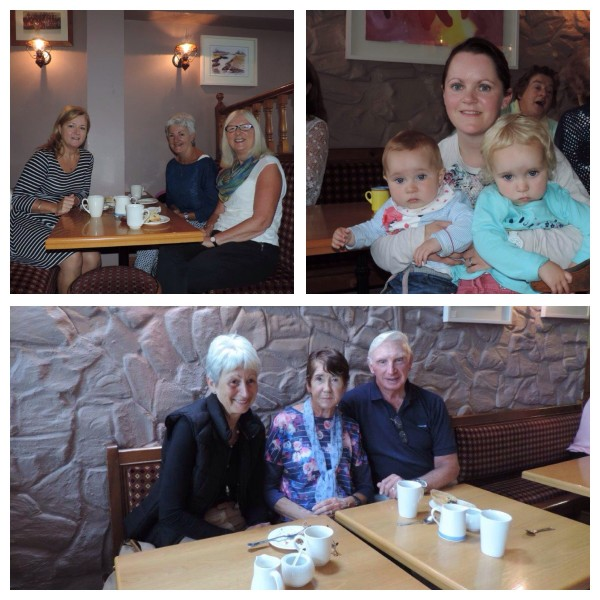 Ireland's biggest coffee morning goal post bar shanagary