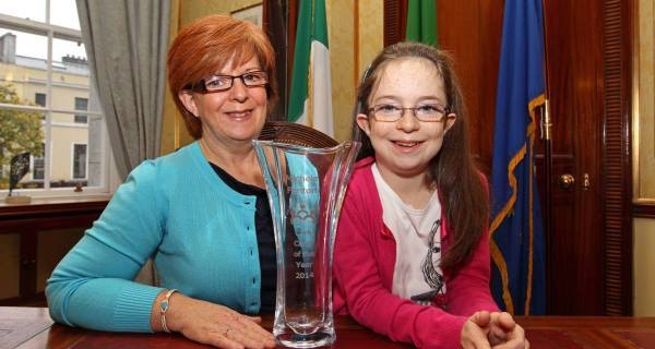 Michele Fenton Cork Carer of the year 2014