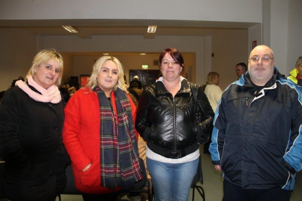 Cllr Nary Linehan-Foley, Clara Foley,Jane Jones & Tom Slattery
