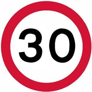 New speed limit for housing estates
