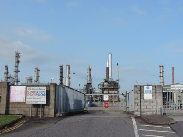 whitegate oil refinery